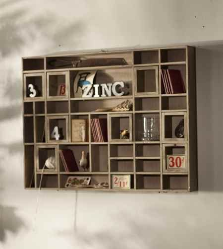 Awesome Knick Knack Wall Cubby