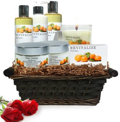 Pure Energy Apothecary Premium Spa Collection Satsuma Gift Set with