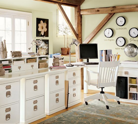 Good Pottery Barn Bedford Rectangular Office Desk. Bedford 2 Drawer File Cabinet  | Pottery Barn
