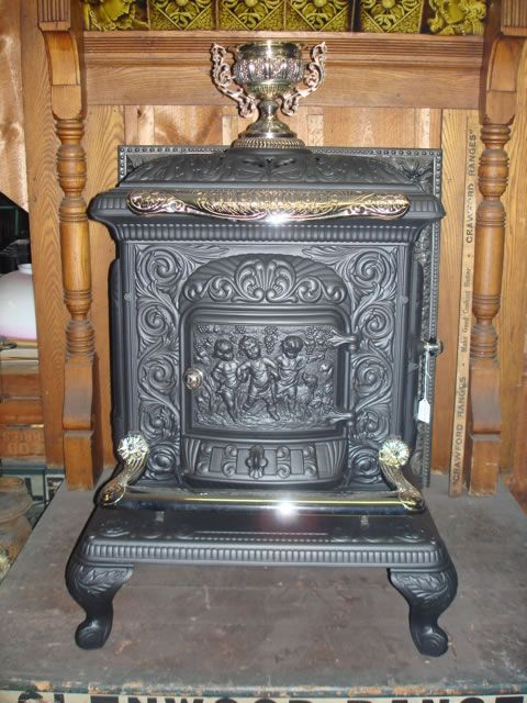 Antique Wood Burning Stoves WB Designs - Antique Wood Burning Stoves WB Designs