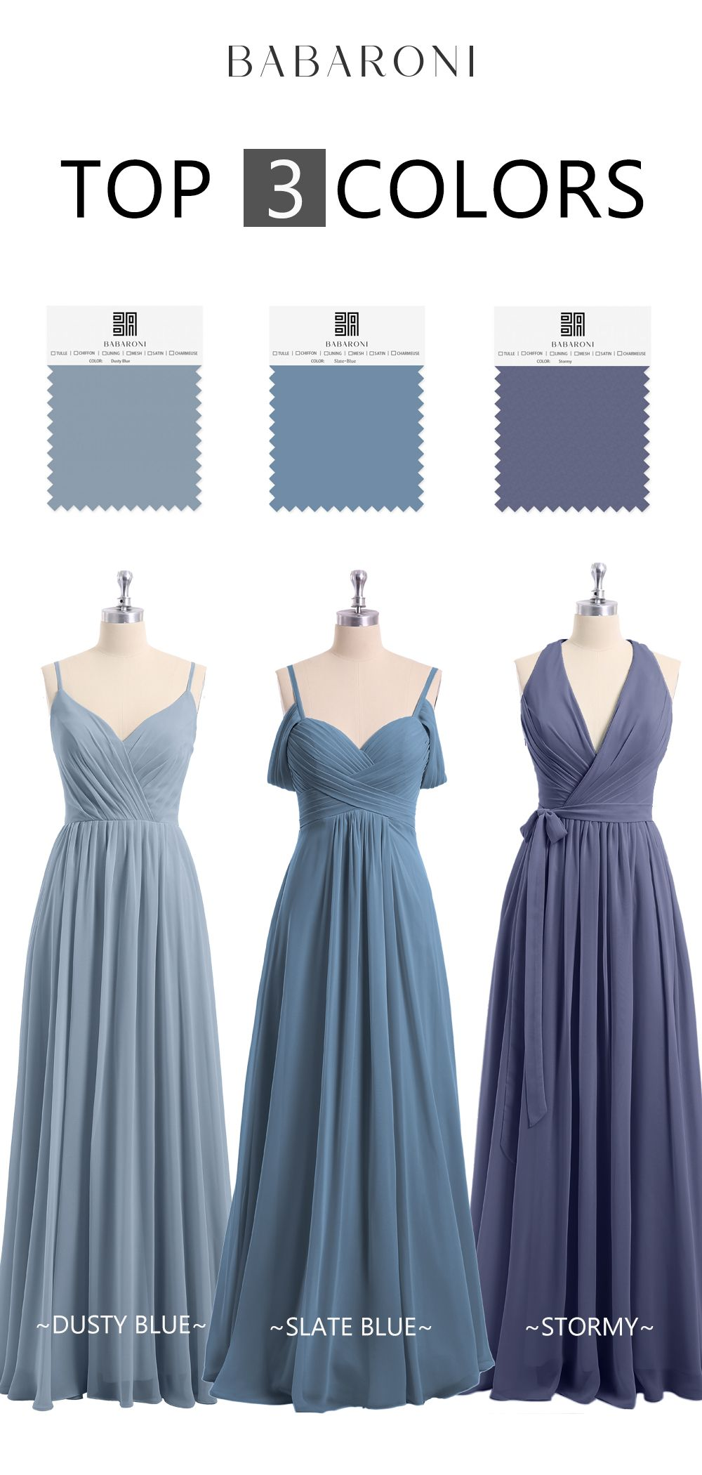 Bridesmaid Dresses Dusty Blue Bridesmaid Dresses Slate Blue Bridesmaid Dresses Blue Bridesmaid Gowns [ 2100 x 1000 Pixel ]