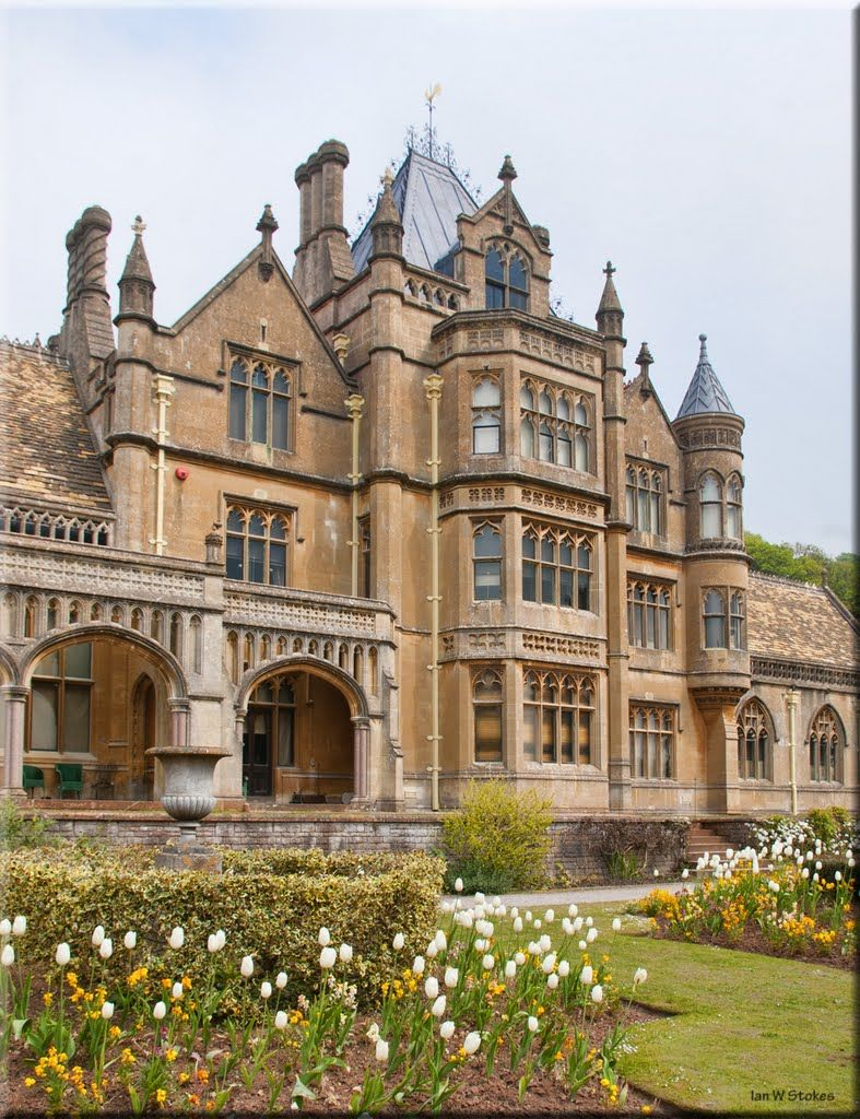 Gothic victorian house tyntesfield victorian gothic revival