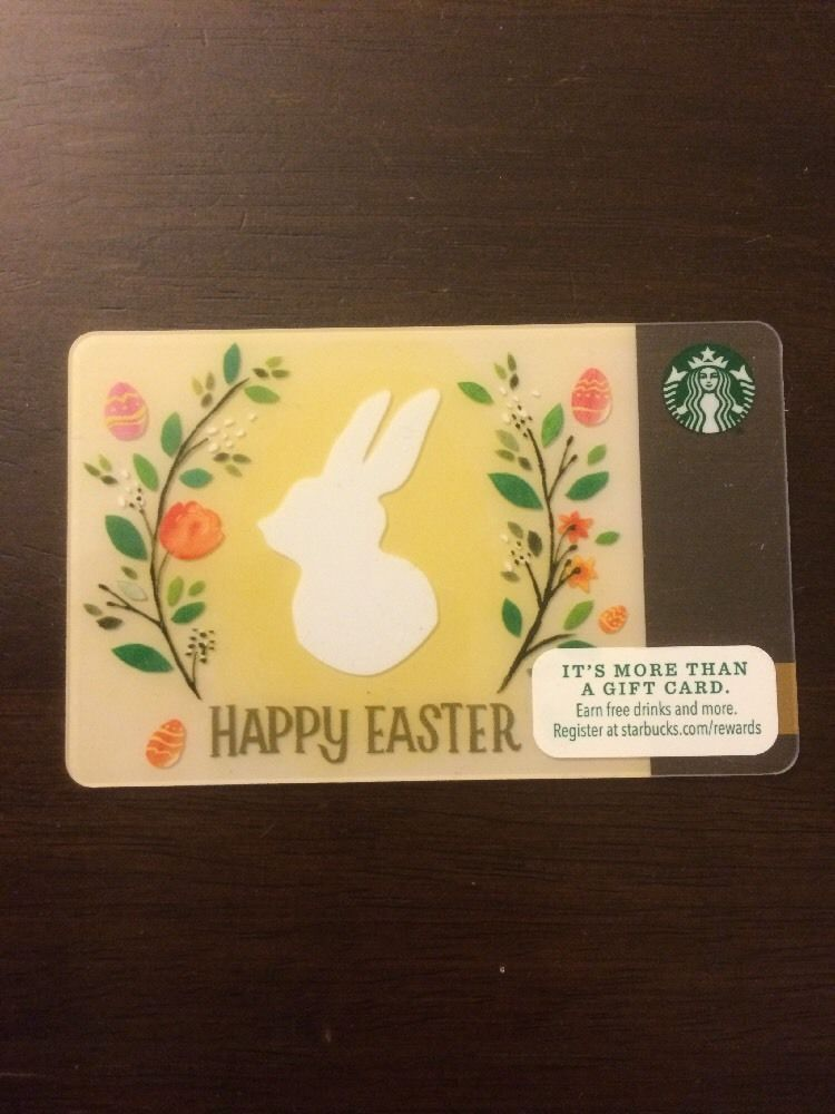 Starbucks 2016 happy easter egg gift card no value brand new starbucks 2016 happy easter egg gift card no value brand new ebay negle Choice Image