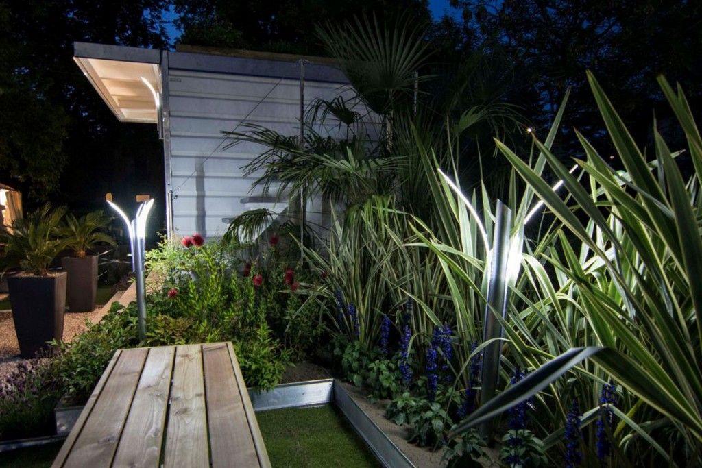 Illuminazione giardino lampade da esterno a luci led solari di
