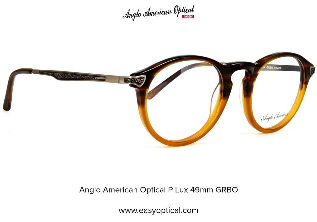 4362a5b0b90c Anglo American Optical P Lux 49 grbo