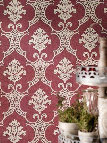 Tapete Barock Ornamente Rot Beige Livingwalls 32830 5