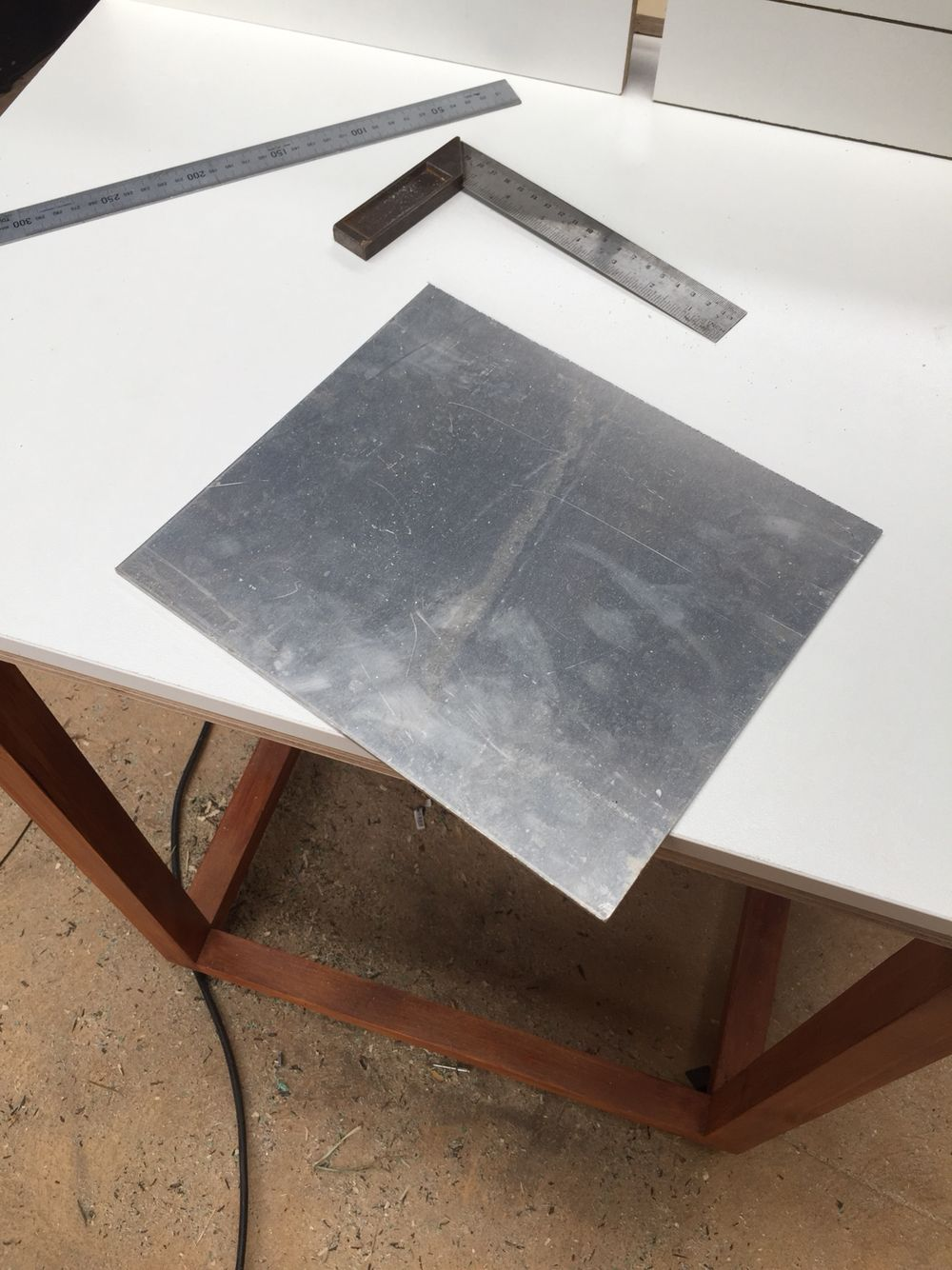 Cut out 5mm aluminum sheet for router table insert router table cut out 5mm aluminum sheet for router table insert greentooth Image collections