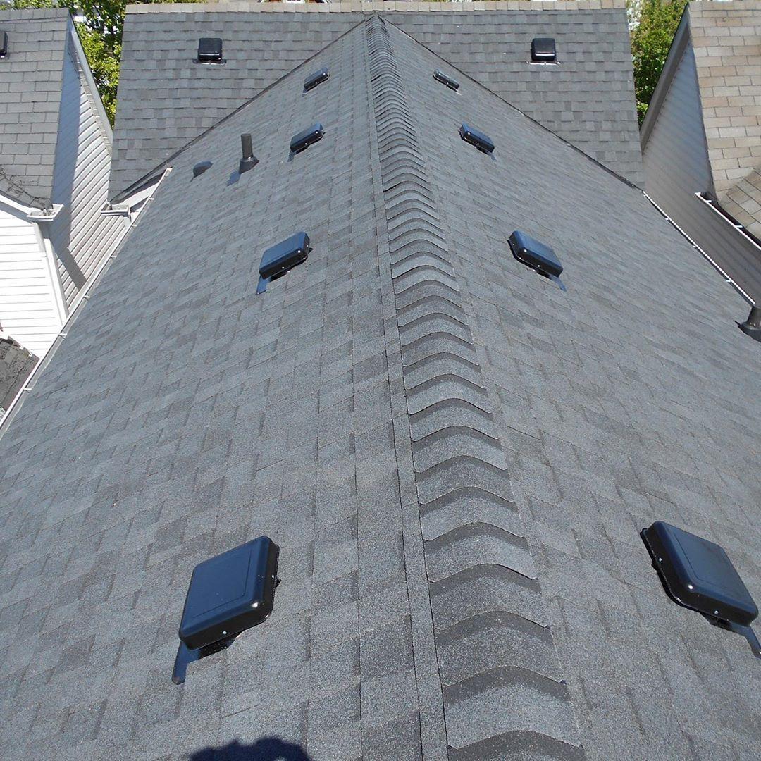 Certainteed Roofing Landmark Black Northyork Insulation Soprema Velux Skylight Foresthill Custom Slate C In 2020 Roof Repair Roof Installation Certainteed