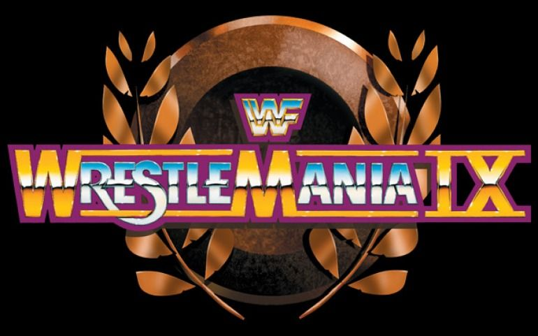 Wrestlemania 9 Wrestlemania Logo Wrestlemania 9 Wwf Poster