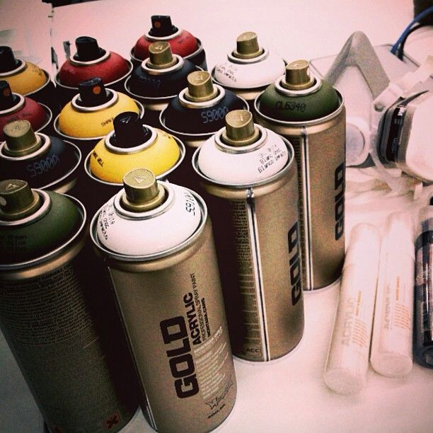 It all starts here. #graffiti #art Photo by ecko_unltd