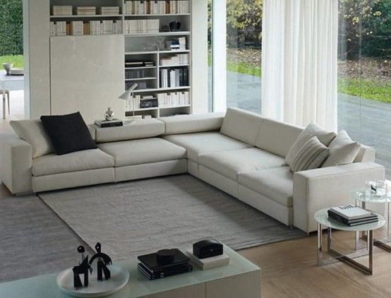 Furniture, Contemporary Modular Sofas For Living Room ...