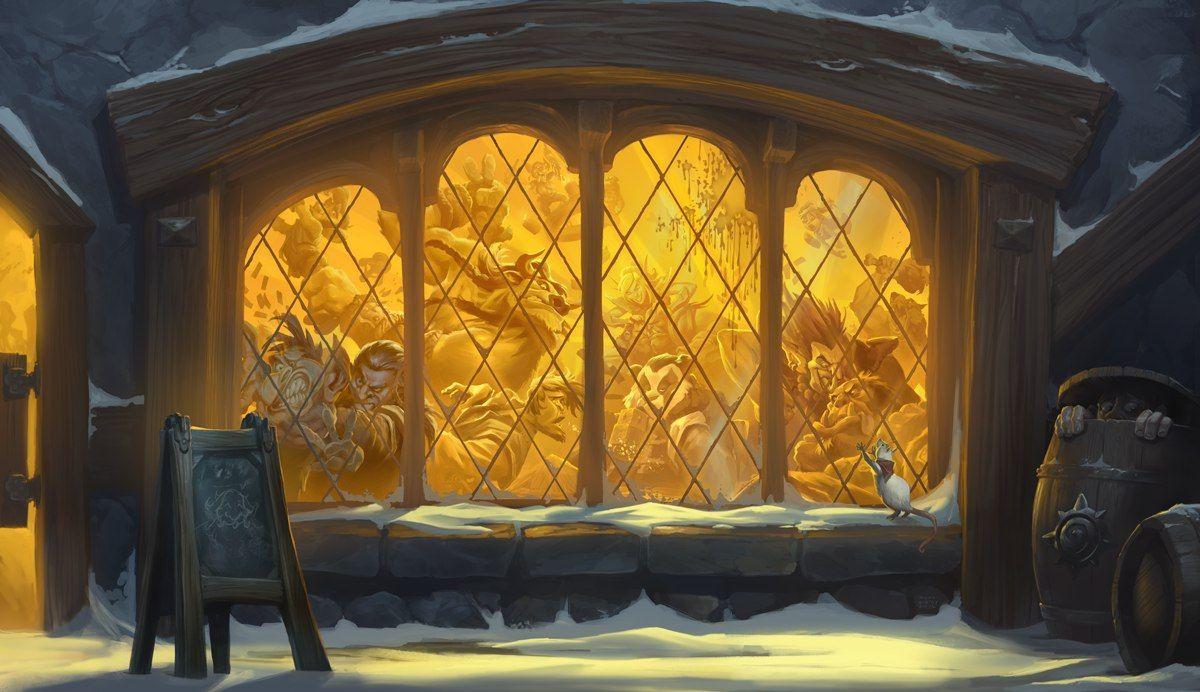 Key Art Tavern Brawl Artist Blizzard Entertainment Hearthstone Hearthstone Wallpaper Tavern