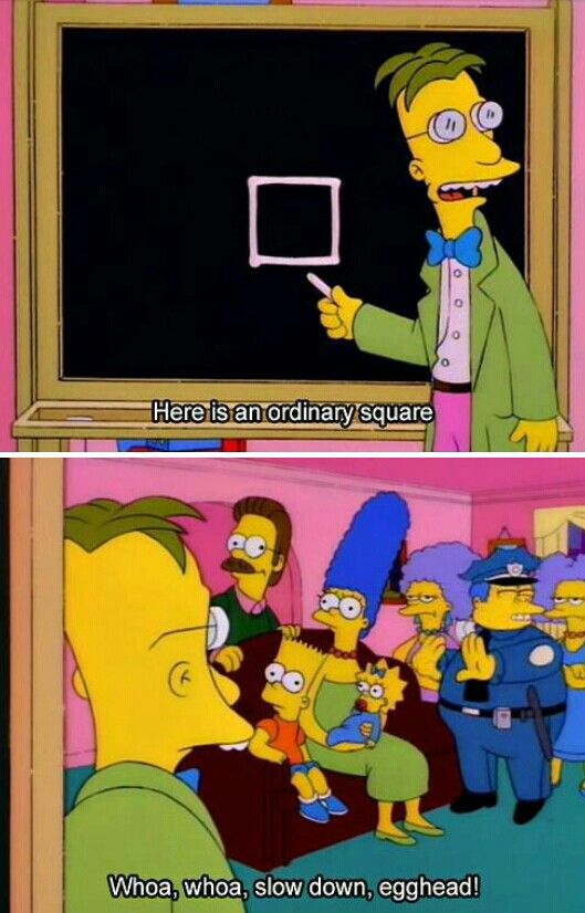 What's going on with Ned Flanders' eye though...