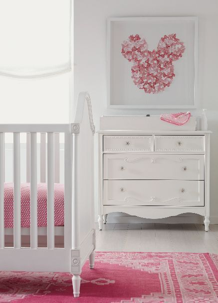 Baby Girl Nurseries Auf Der Suche Nach Einzigartigen