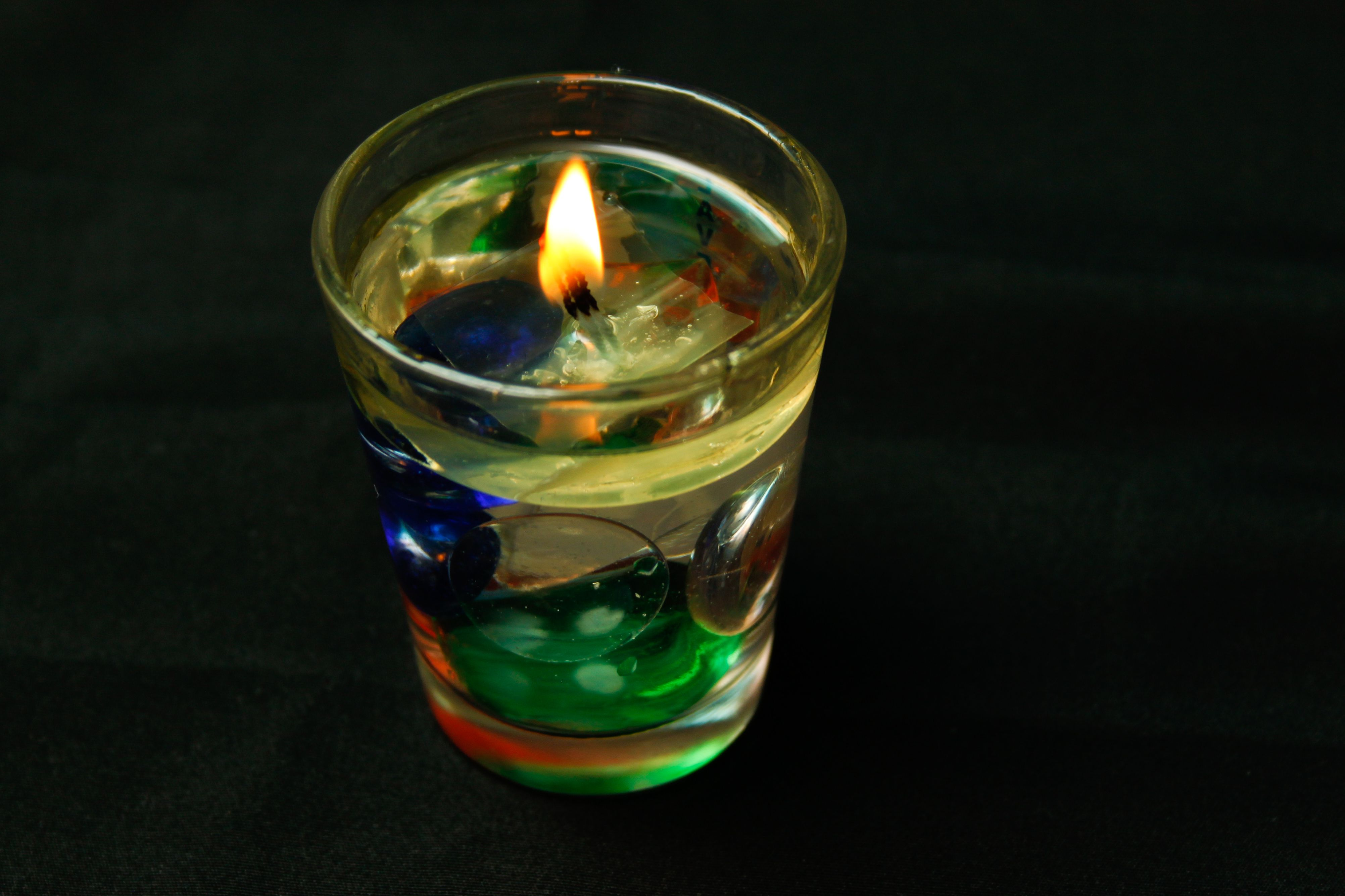 make water candles water candle water and craft diy candles