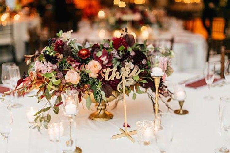 BURGUNDY WEDDING ideas para bodas, On top, weddings - Macarena Gea