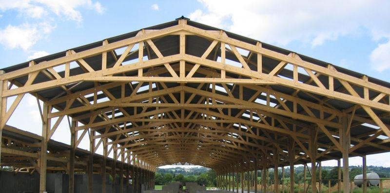 charpente bois agricole