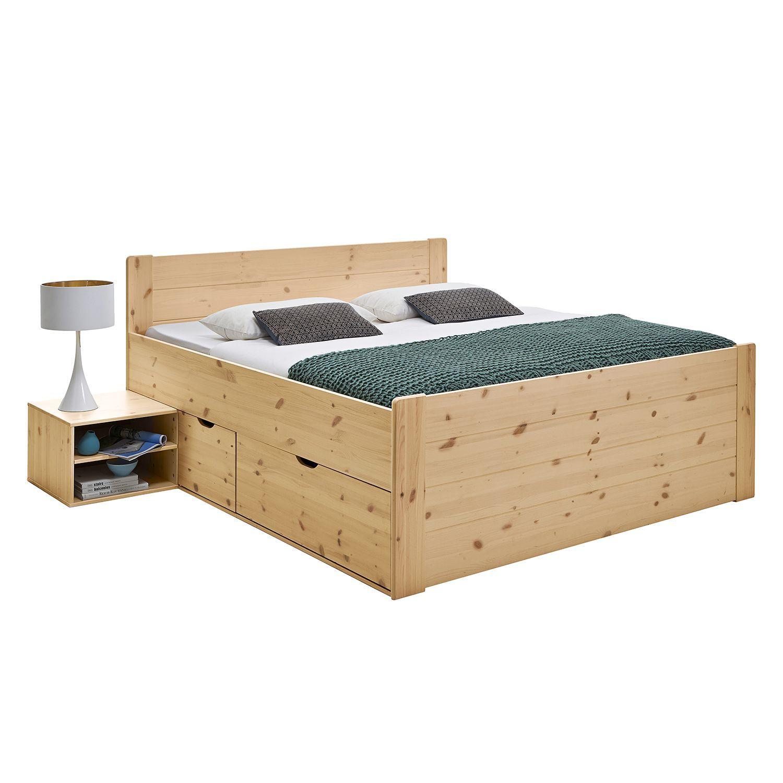 Massivholzbett Jana In 2020 Massivholzbett Bettgestell Schlafzimmermobel