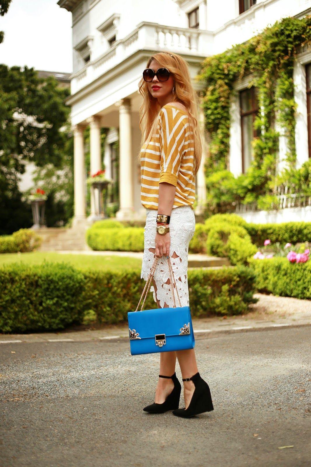 Fashion Painted Dreams: Sunny Stripes