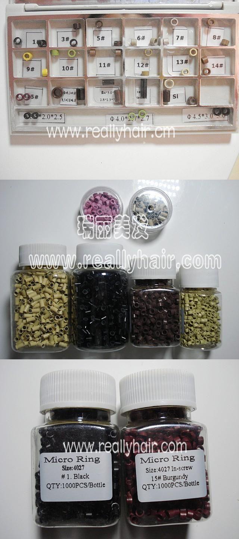 Aluminurm Gel Hair Extension 4027 1000pcsbottle Accessories