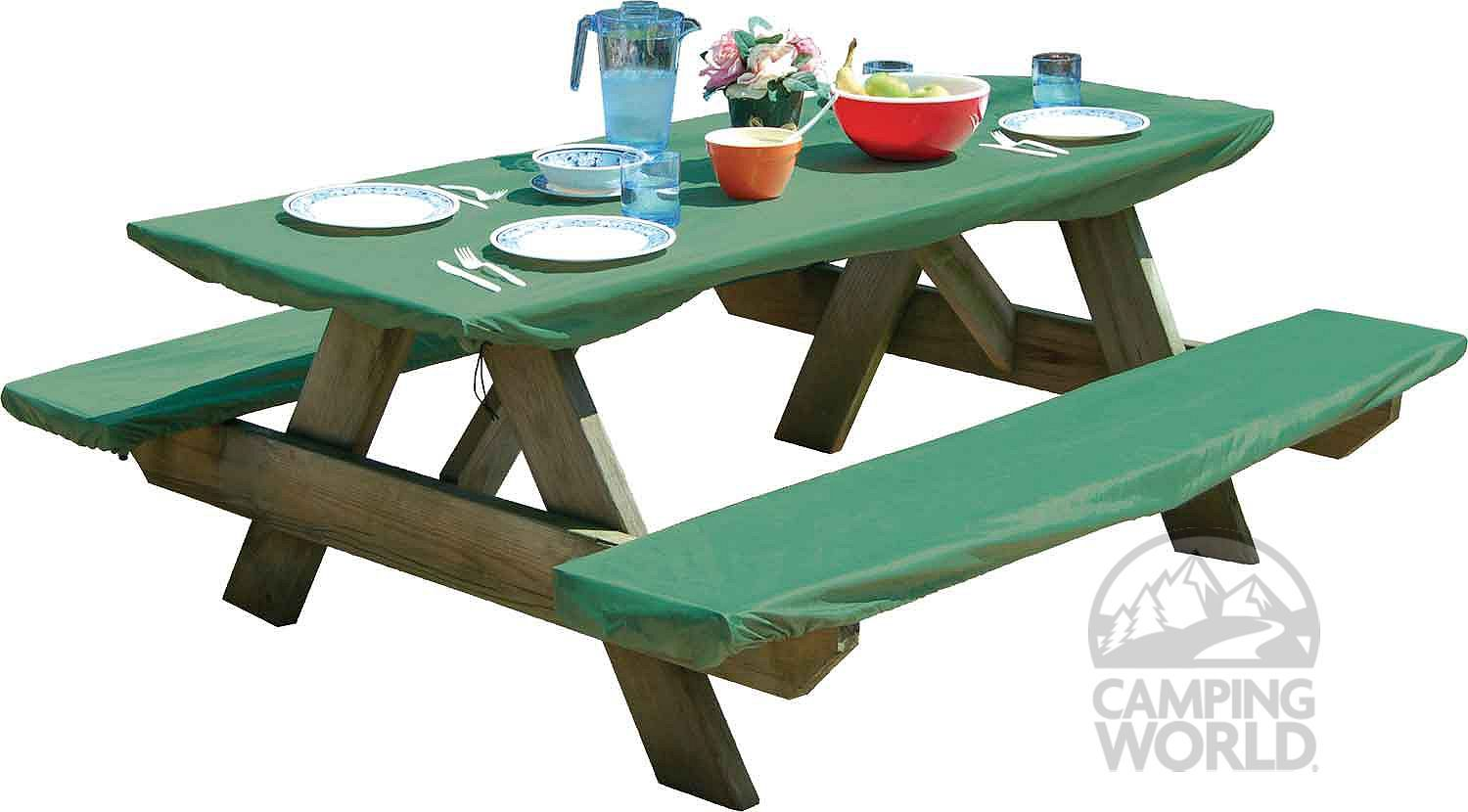 Bungee Picnic Table & Bench Cover Set - another possibility for a ...