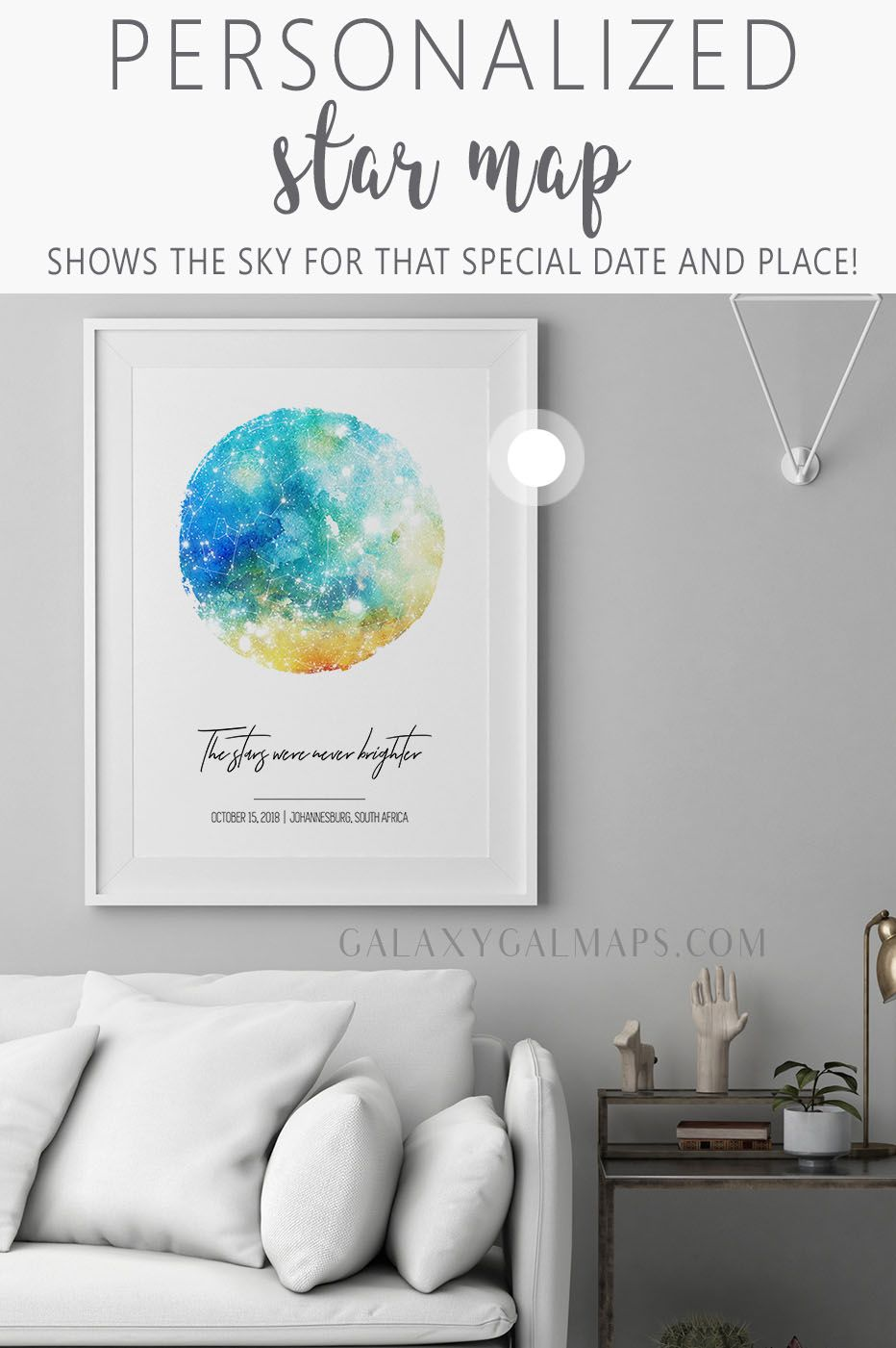 Create Your Unique Star Map Anniversary Idea For Virgo Black And White Art State Of Vermont 10 Ye Star Map 1 Year Anniversary Gifts Custom Wedding Gifts