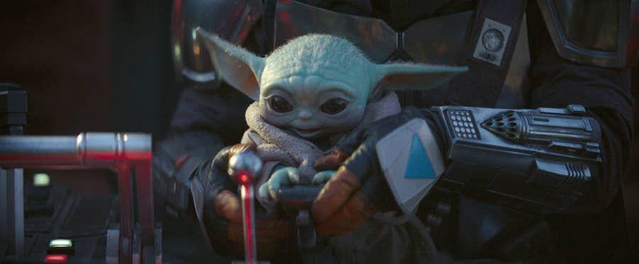 Baby Yoda Bay Bay Imgur Yoda Wallpaper Funny Pictures Yoda Meme