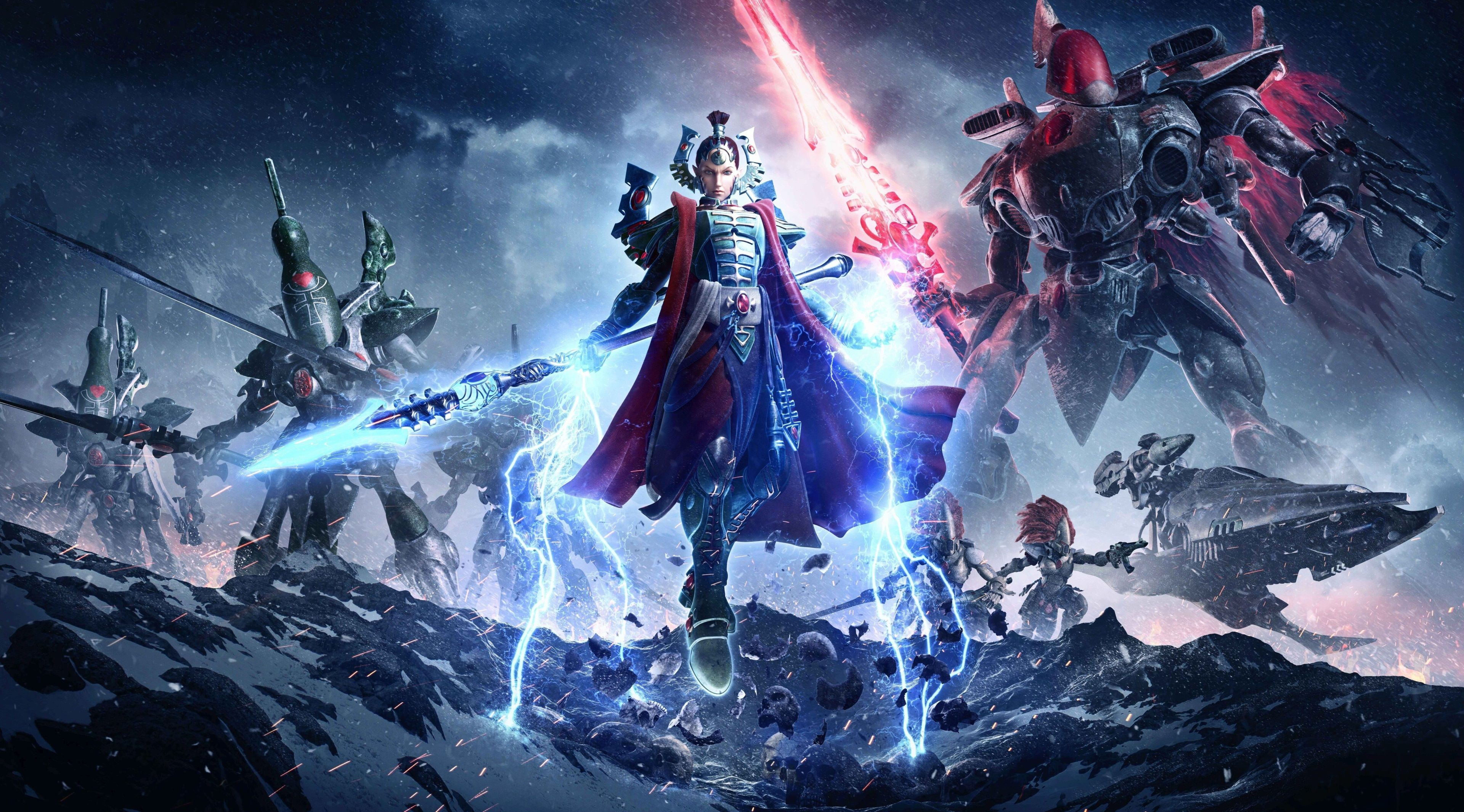 3840x2131 Warhammer 40k Dawn Of War 3 4k Hd Image Warhammer 40k Warhammer Warhammer Eldar