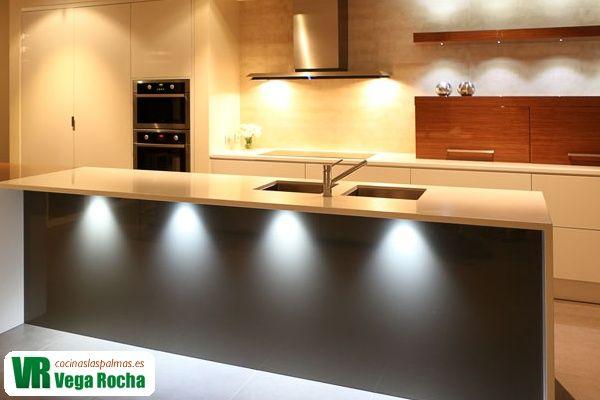 Cocina con LED 25 ideas para iluminar tu cocina con LED Pinterest