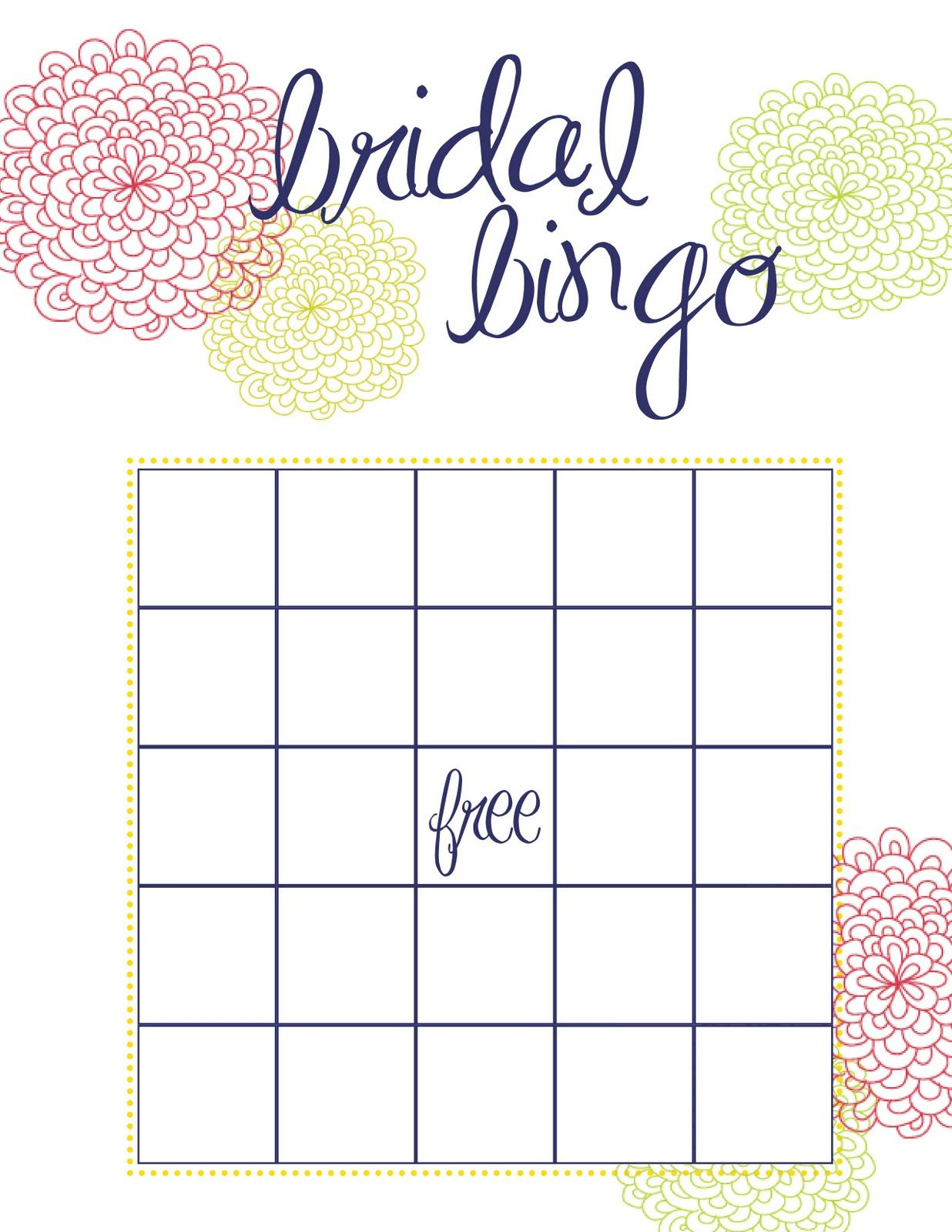 Beganwithabow Busy Weekend In The Bow World Bridal Shower Bingo Bridal Bingo Bridal Shower Cards Bridal bingo free template blank