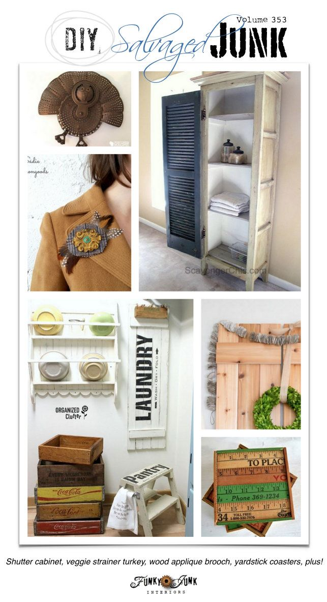 DIY Salvaged Junk Projects 353