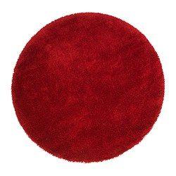 Adum Rug High Pile Bright Red Diameter  Area 14 32 Sq Feet Surface Density 10 81 Oz Sq Ft Diameter 130 Cm Area 1 33 M C2 B2 Surface Density 3300
