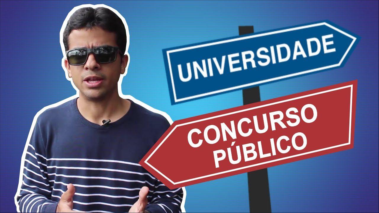 Concurso Público ou Faculdade, o que devo priorizar?