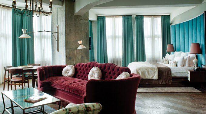 2015 Pantone Color Of The Year: Marsala interior design