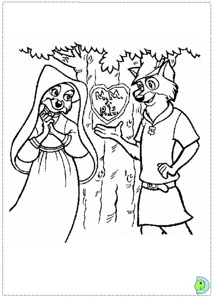 Robin Hood Coloring Page Disney Coloring Pages Coloring Pages Coloring Books