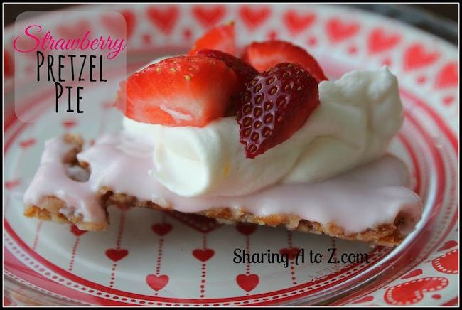 This strawberry pretzel pie is a healthier alternative to regular pies and it is easier to make, too! This recipe was created by combining 2 of my desserts.