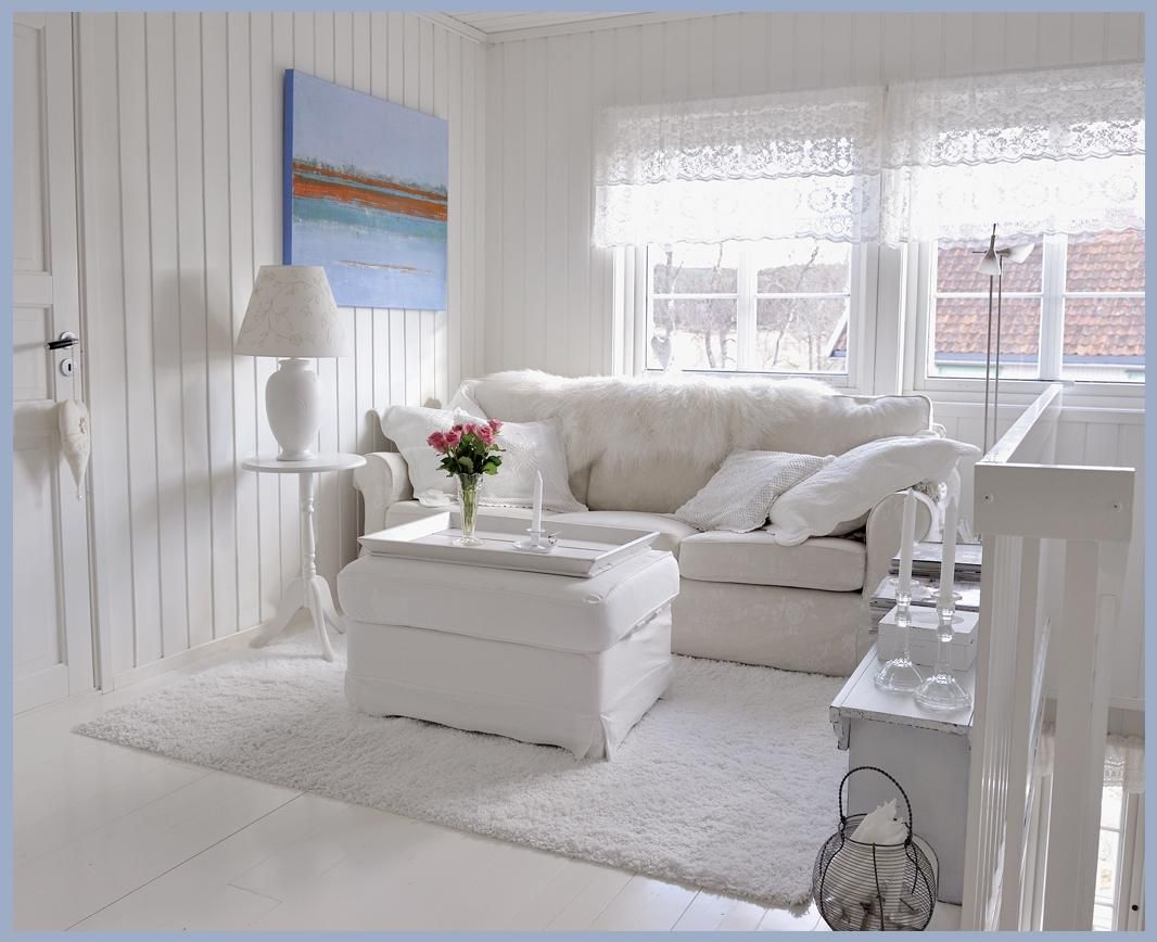 Amazing All White Living Room | What A Lovely All White Living Room. Part 32