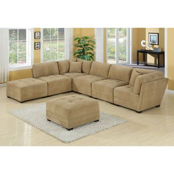 Costco canby 7 piece modular sectional new furniture for for 7 piece modular sectional sofa costco