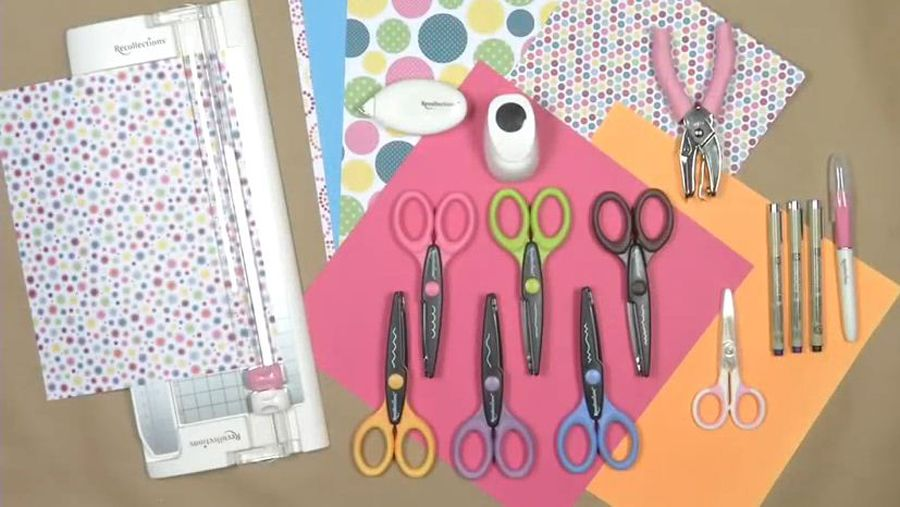 Papercrafting 101: Basic Tools
