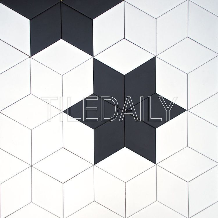 Star Pattern With Diamond Ceramic Tile Tiledaily Tiles Interiordesign Retaildesign Hospitalitydesign Blackand Diamond Tile Stone Mosaic Tile Stone Mosaic