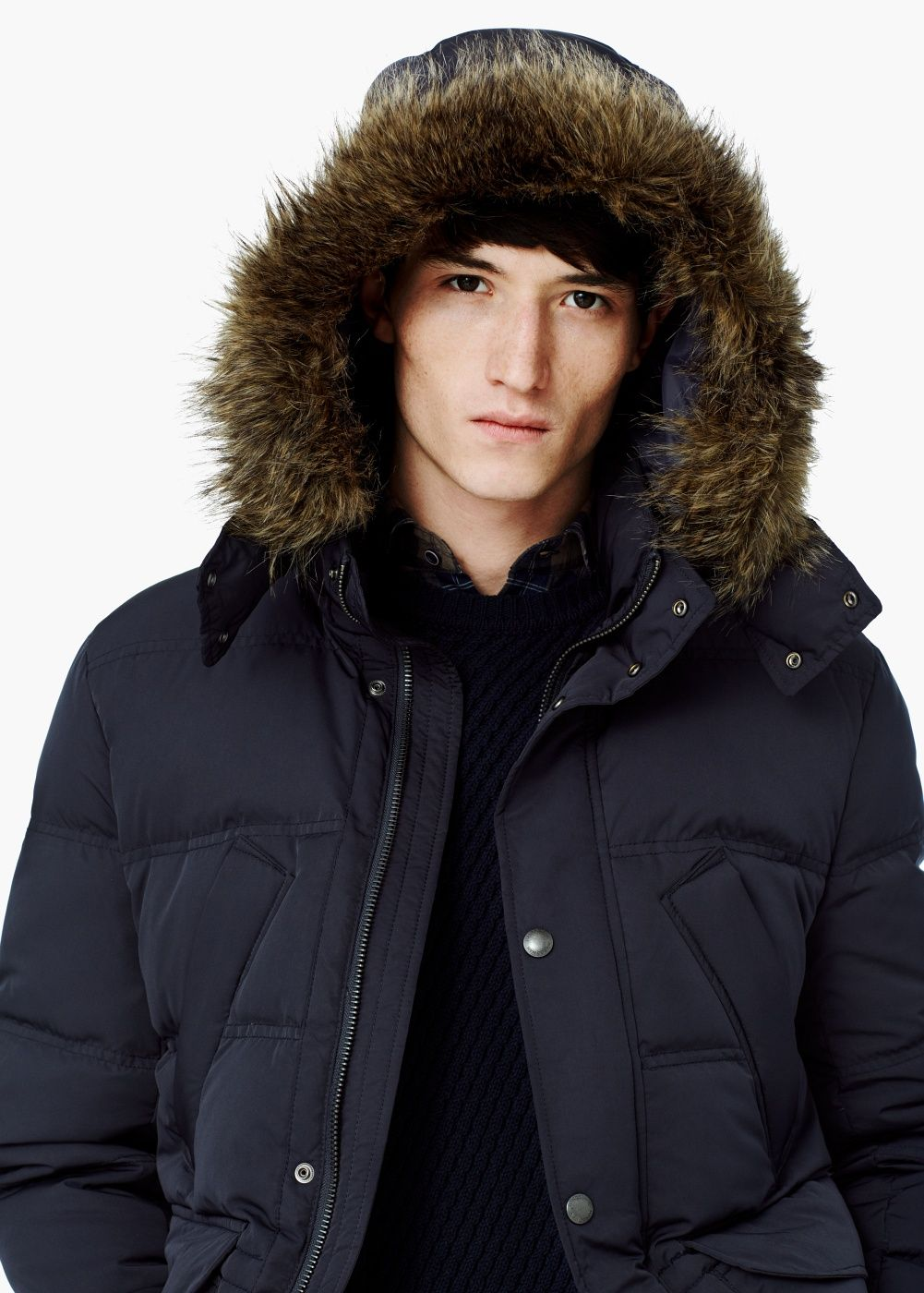 Feather Down Hooded Coat Laki Laki Pinterest Coats Clothing