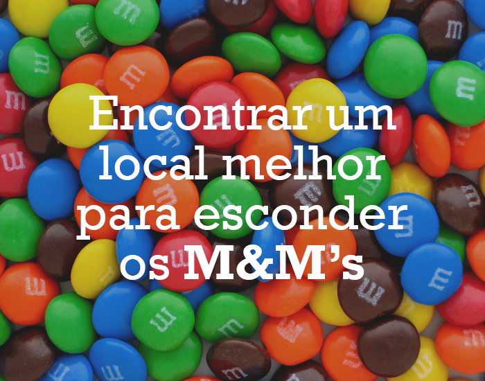 M&M's Portugal - 1ª resolução de Ano Novo!