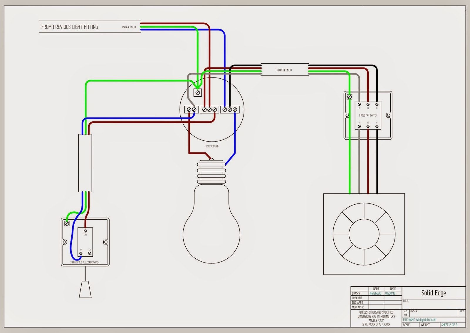 Bathroom Fan Light Combo Wiring Diagram from i.pinimg.com