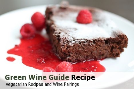 Cocoa and Black Bean Brownies with Raspberry Sauce : Wi