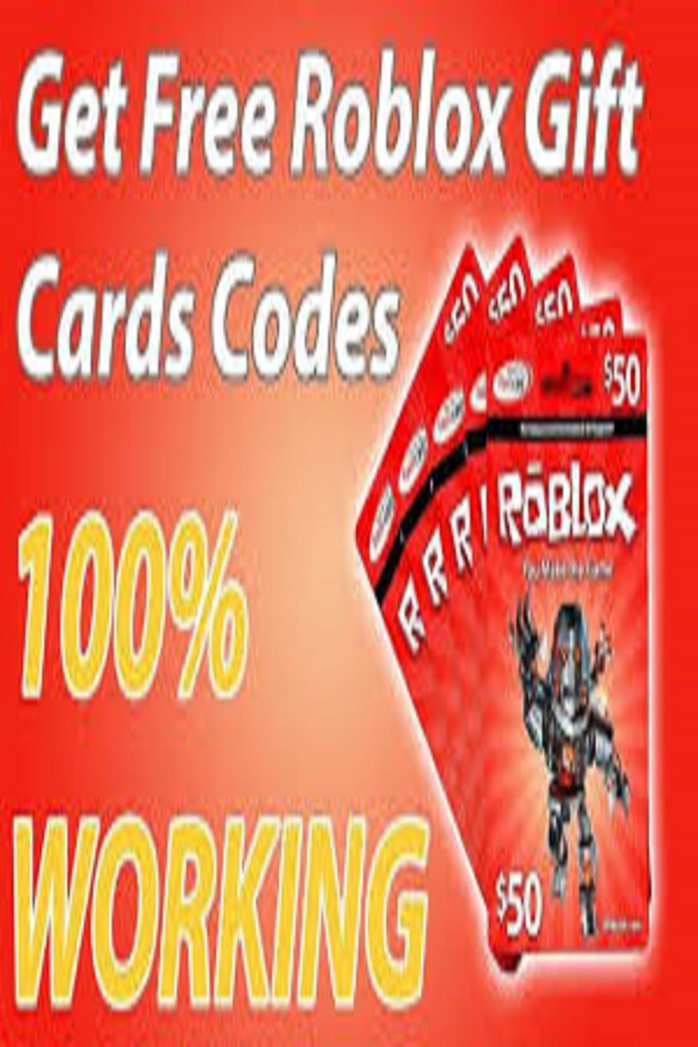 How To Get Free Roblox Gift Card Codes For Robux In 2020 In 2020