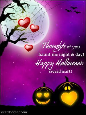 Romantic halloween cards doritrcatodos romantic halloween cards m4hsunfo
