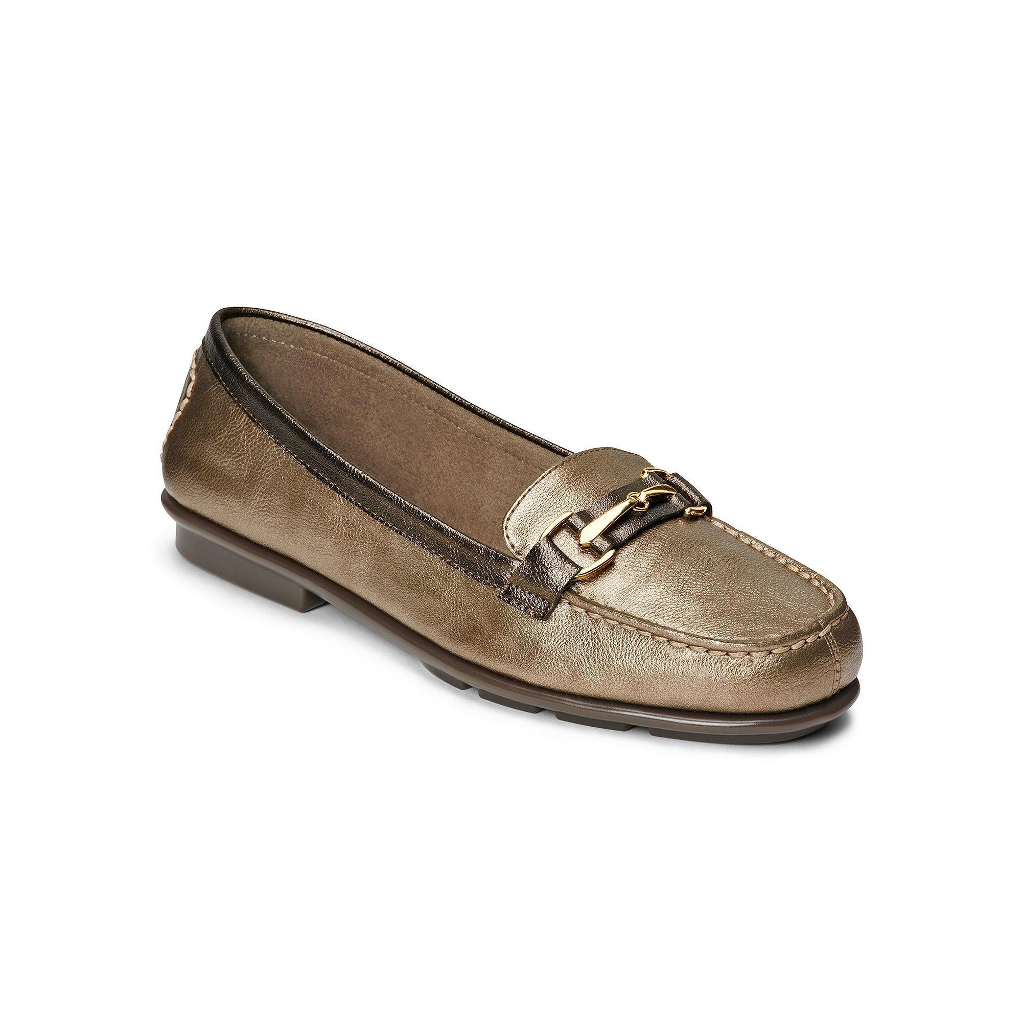 A2 by Aerosoles Stitch N Turn Nu World Womens SlipOn Loafers Size