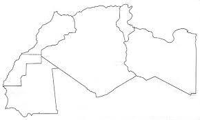 خريطة الوطن العربي صماء