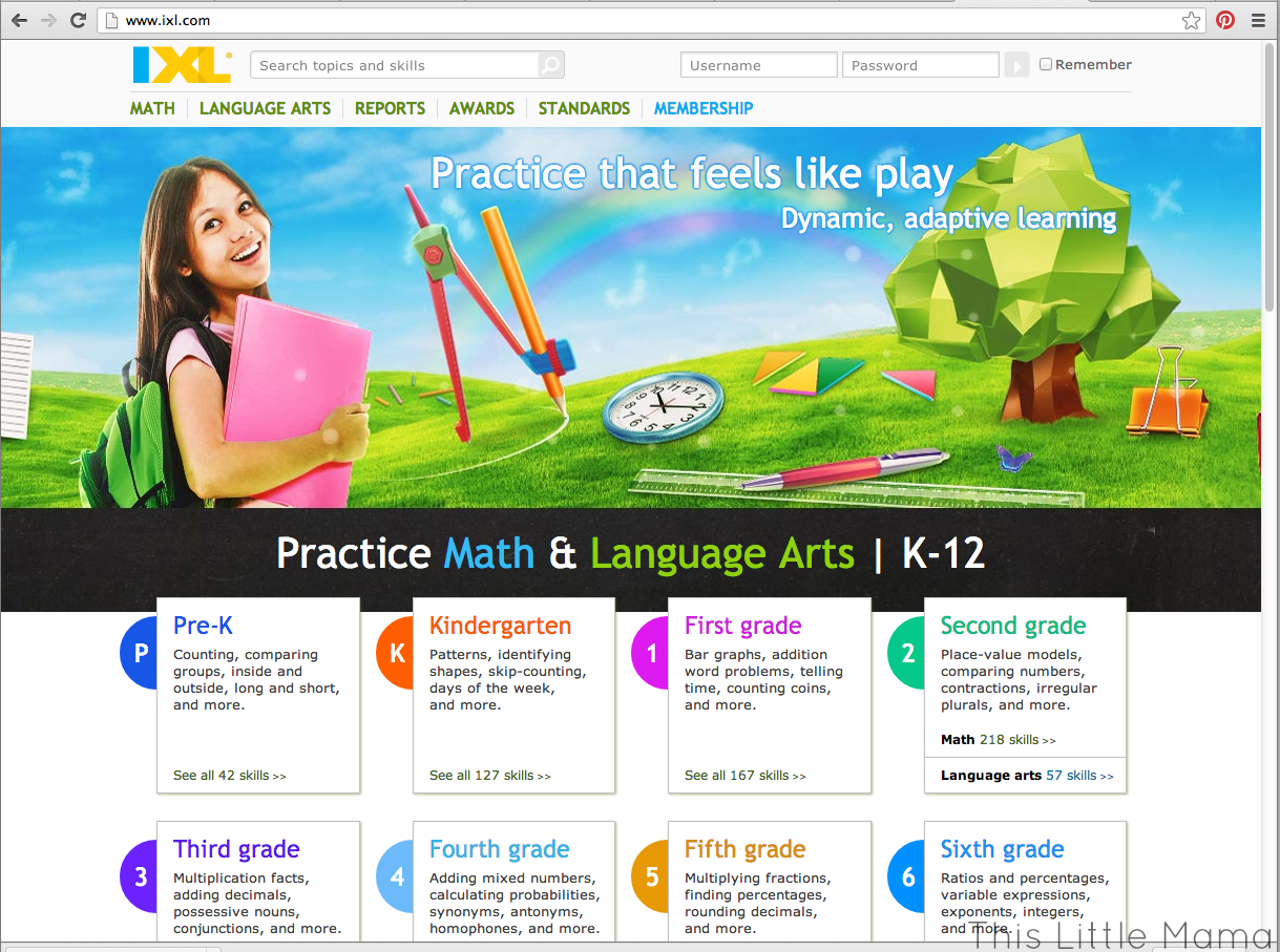 www.ixl.com ~ Practice makes perfect, and IXL makes math and ...