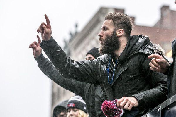 Julian Edelman Photos Photos New England Patriots Victory Parade With Images Julian Edelman Edelman Patriots Edelman